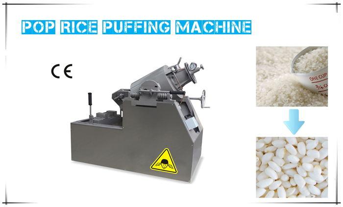Pop-rice Puffing Machine