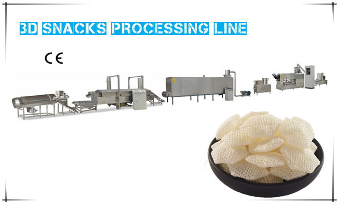 3D Snacks Processing Line