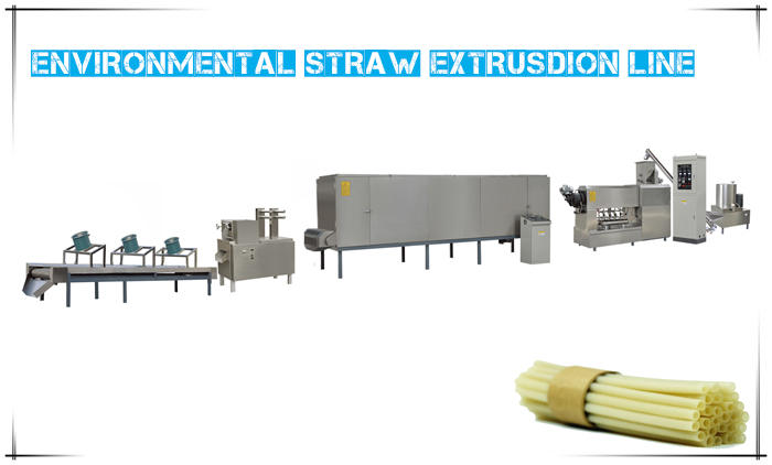 Environmental Straw Machine